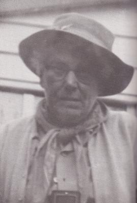 Edna - self portrait at Budeim